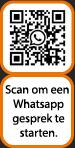 QR-code Whatsapp Voorberg Zonwering